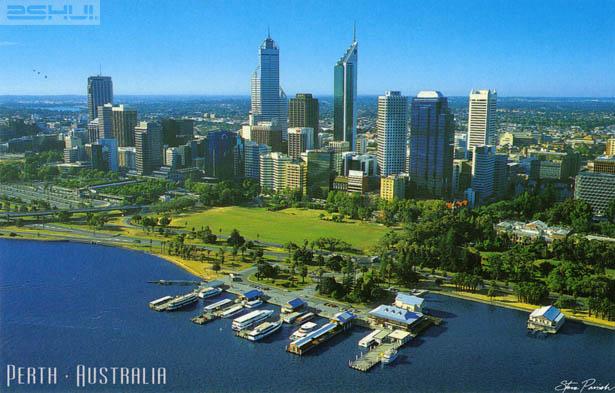 Thành phố Perth mộng mơ